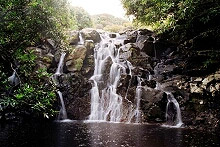 Waterfalls – one of many island sights