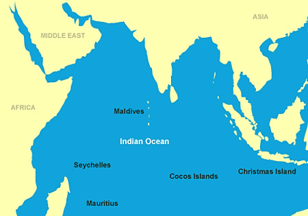 Indian Ocean Islands Honeymoon Regions