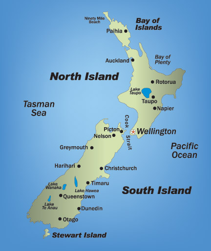 How Many Islands In New Zealand