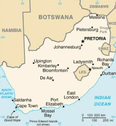 Kruger national park and surrounding reserves